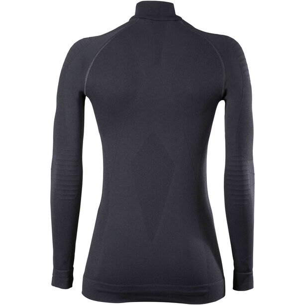 Falke Maximum Warm Tight Fit Zip Shirt Damen black