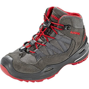 Lowa Robin GTX QC Shoes Kinder anthracite/red anthracite/red