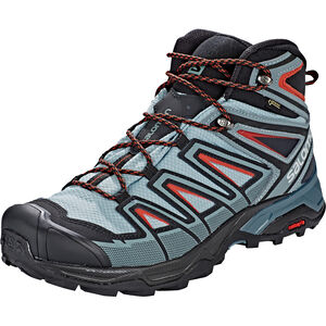 Salomon X Ultra 3 Mid GTX Shoes Herren lead/stormy weather/bossa nova