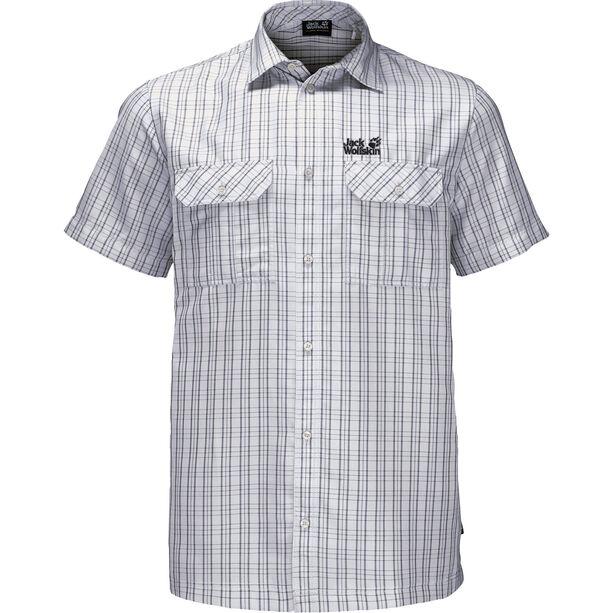 Jack Wolfskin Thompson Shirt Herren white rush checks