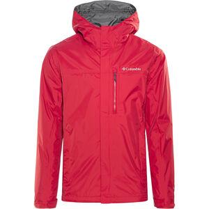 Columbia Pouring Adventure II Jacket Herren mountain red mountain red
