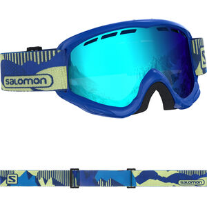 Salomon Juke Brille Kinder blue blue