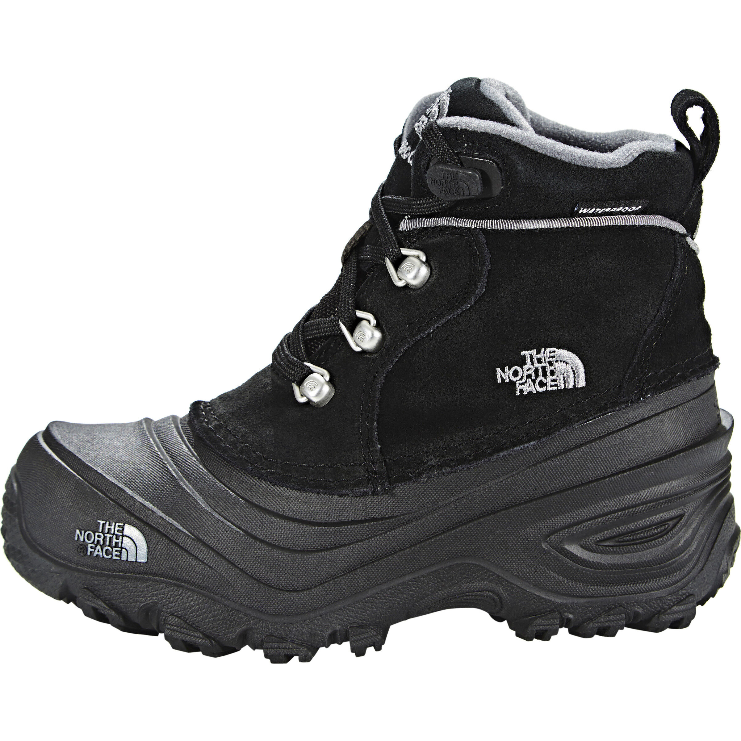 The North Face Chilkat Lace II Boots Kinder tnf blackzinc grey