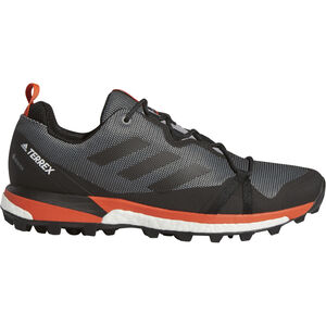 adidas TERREX Skychaser LT GTX Low-Cut Schuhe Herren grey three/core black/active orange grey three/core black/active orange