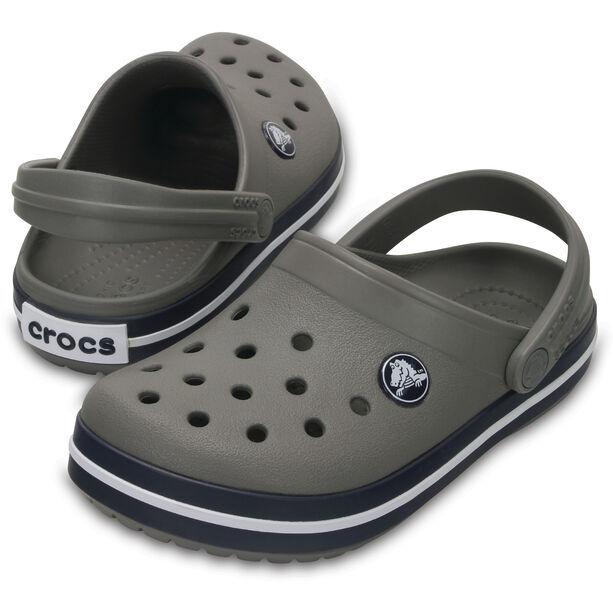 Crocs Crocband Clogs Kinder smoke/navy
