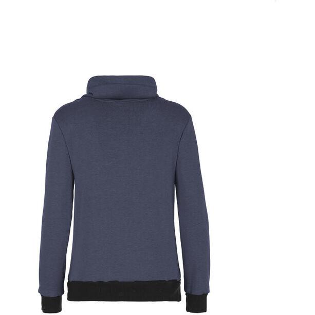 E9 Poppy Fleece Pullover Damen blue