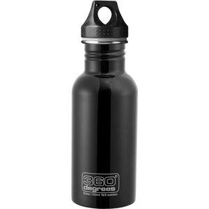 360° degrees Stainless Drink Bottle 550ml black black