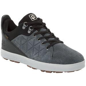 Jack Wolfskin Auckland Texapore Low Schuhe Herren ebony/black ebony/black