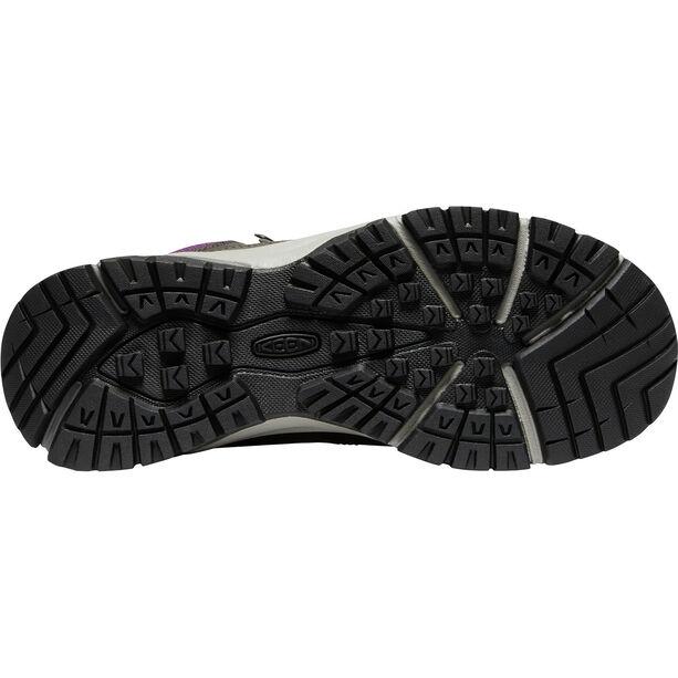 Keen Innate Leather Mid WP Schuhe Damen shark/dusty lavendar