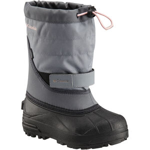 Columbia Powderbug Plus II Boots Kinder grey ash/rosewater grey ash/rosewater