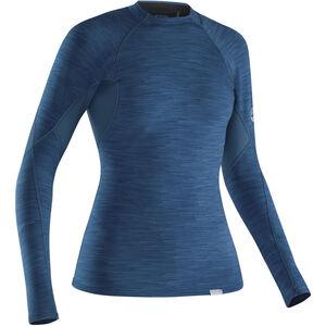 NRS HydroSkin 0.5 Longsleeve Shirt Damen moroccan blue moroccan blue