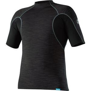 NRS HydroSkin 0.5 Shortsleeve Shirt Herren black black