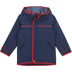 Finkid Joiku Outdoor Parka Kinder navy/red navy/red