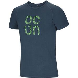 Ocun Bamboo Gear T-Shirt Herren slate blue slate blue