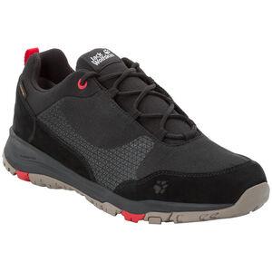 Jack Wolfskin Activate XT Texapore Low Schuhe Herren black/red black/red