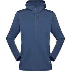 Norrøna Svalbard Wool Hood Damen indigo night indigo night