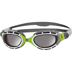 Zoggs Predator Flex Goggles Titanium grey/green/mirror grey/green/mirror
