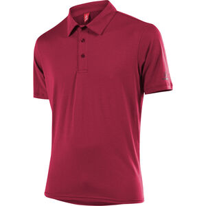 Löffler Transtex Single CF Poloshirt Herren maroon