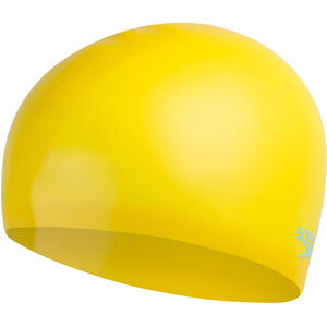 speedo Plain Moulded Silicone Cap Kinder empire yellow/chill blue empire yellow/chill blue