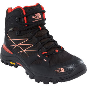 The North Face Hedgehog Fastpack Mid GTX Shoes Damen tnf black/fire brick red tnf black/fire brick red