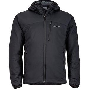 Marmot Novus Insulated Hoodie Herren black black