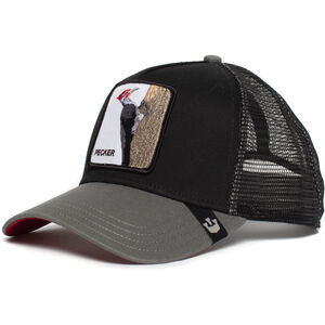 Goorin Bros. Woody Wood Trucker Cap black black