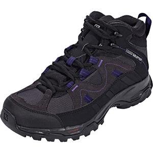 Salomon Meadow GTX Mid Hiking Shoes Damen Phantom/Black/Astral Aura