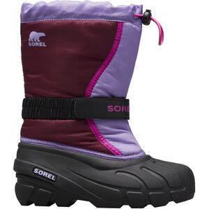 Sorel Flurry Stiefel Jugend purple dahlia/paisley purple purple dahlia/paisley purple