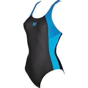 arena Ren One Piece Swimsuit Damen black-pix blue-turquoise