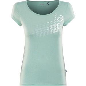 Kaikkialla Tytti Drirelease SS Shirt Damen light blue light blue