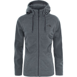 The North Face Mezzaluna Full-Zip Hoodie Damen tnf medium grey heather tnf medium grey heather
