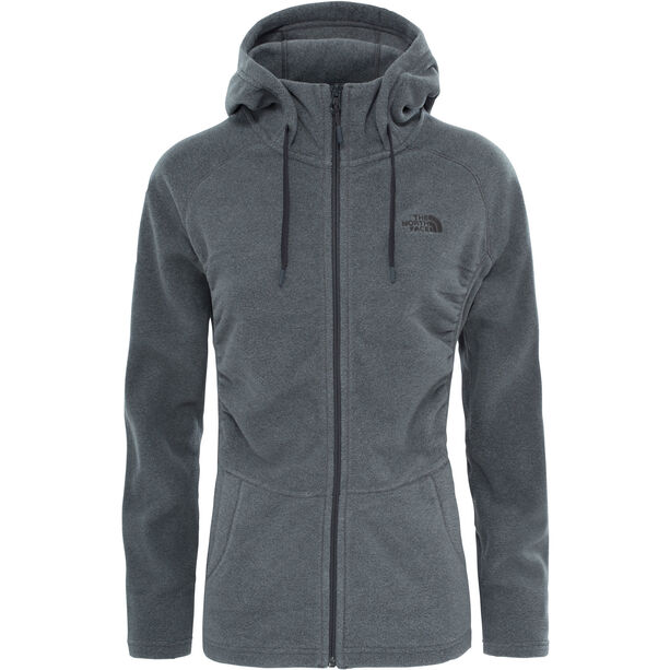 The North Face Mezzaluna Full-Zip Hoodie Damen tnf medium grey heather