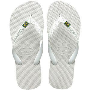 havaianas Brasil Flips white white