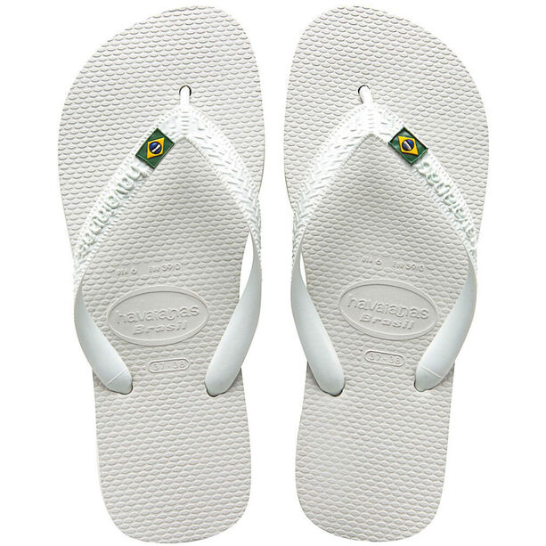 havaianas Brasil Flips white