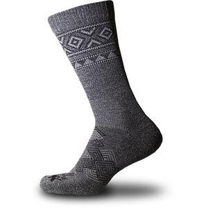 Thorlos Outdoor Traveler Crew Socks grey/black grey/black