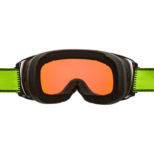 Alpina Granby QMM Goggles black matt q green spherical