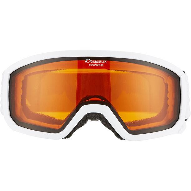 Alpina Scarabeo Doubleflex S2 Goggles Kinder white