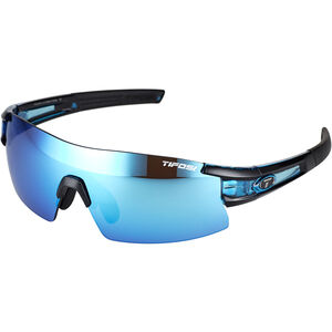 Tifosi Escalate SF Glasses Herren crystal blue - clarion blue/ac red/clear crystal blue - clarion blue/ac red/clear