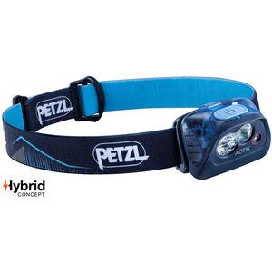 Petzl Actik Stirnlampe blue