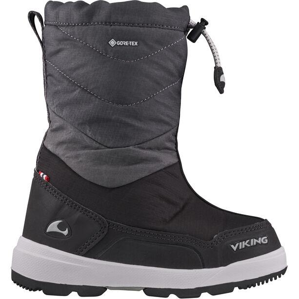 Viking Footwear Halden GTX Winterstiefel Kinder black/charcoal