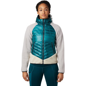 Mountain Hardwear Altius Hybrid Hoody Damen dive dive