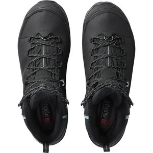 Salomon X Ultra Mid CS WP Winter Shoes Damen black/phantom/trellis black/phantom/trellis