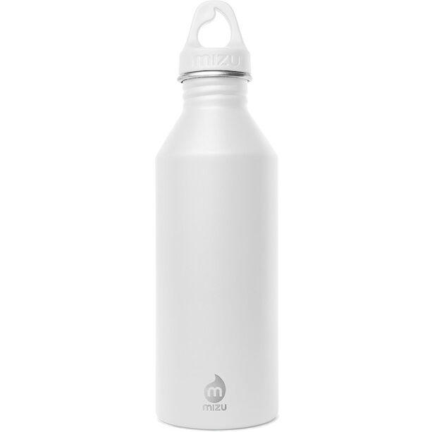 MIZU M8 Bottle with White Loop Cap 800ml enduro white