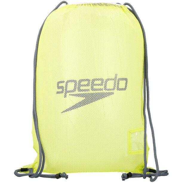 speedo Equipment Mesh Bag 35l lime punch/ oxid grey