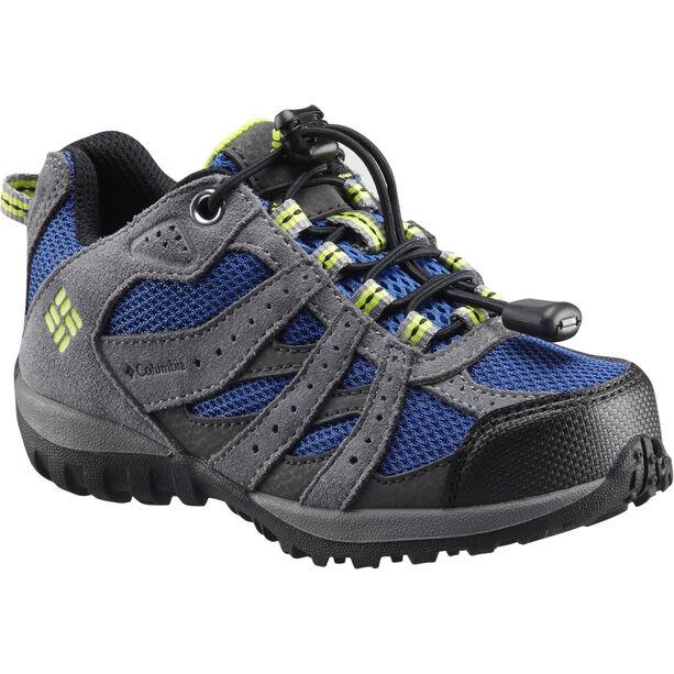 Columbia Redmond WP Schuhe Kinder azul/bright green