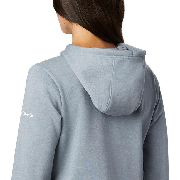Columbia Logo Hoodie Damen tradewinds grey heather
