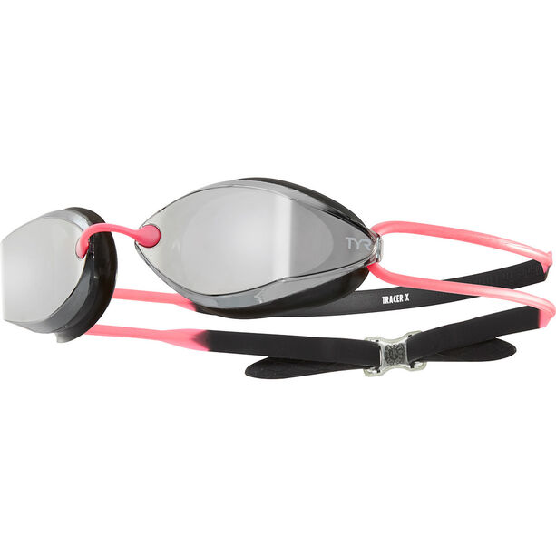 TYR Tracer X-Racing Mirrored Goggles Damen silver/black