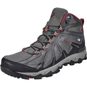 Columbia Peakfreak XCRSN II XCEL Mid Outdry Shoes Herren city grey / bright red city grey / bright red