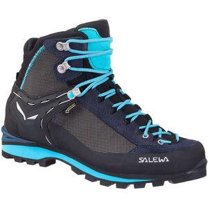 SALEWA Crow GTX Shoes Damen premium navy/ethernal blue premium navy/ethernal blue