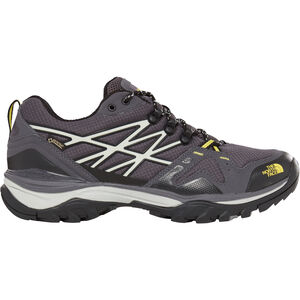 The North Face Hedgehog Fastpack GTX Shoes Herren blackened pearl/acid yellow